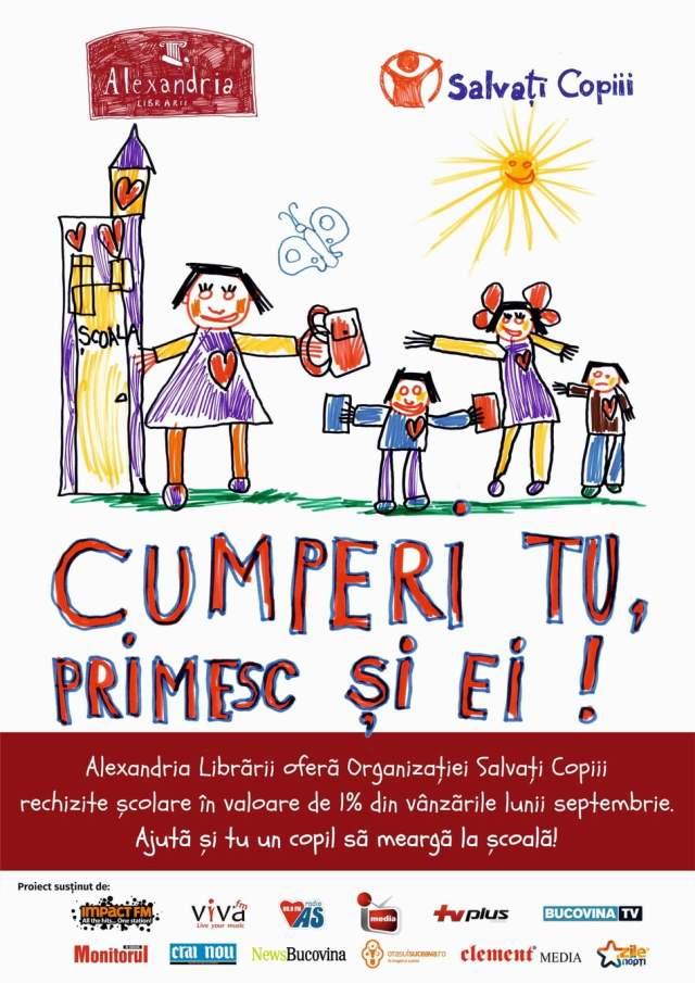 Afis Salvati Copiii 2016