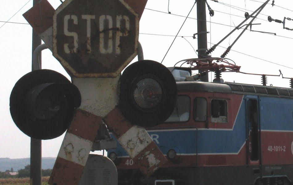 Sancțiuni pentru încălcarea regulilor de trecere la nivel cu calea ferată