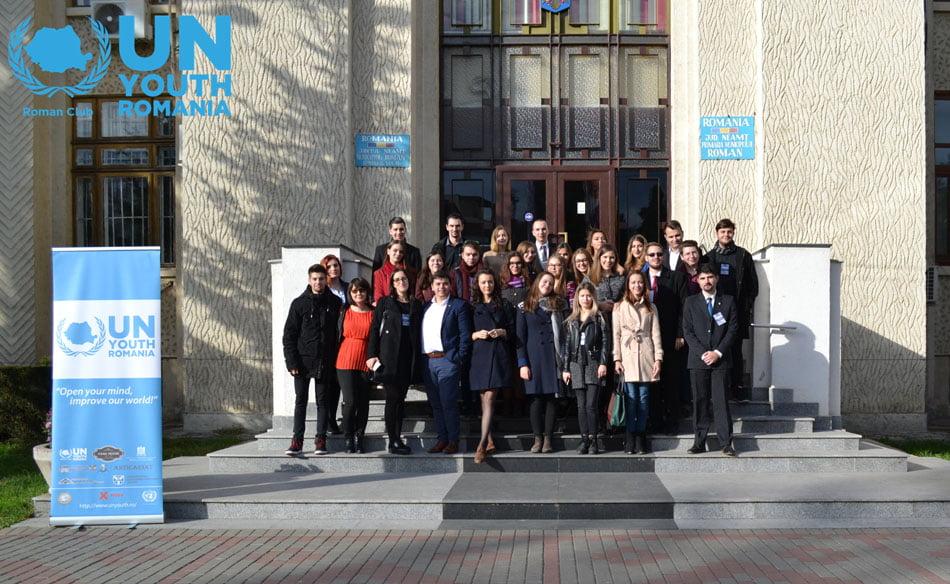 Romanul a fost în premieră gazda Consiliului Național al Asociației Tineretul ONU din România