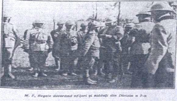 """Cavaleri ai Ordinului """"Mihai Viteazul"""" din unitățile subordonate Diviziei 7 Infanterie """"Roman"""" în Războiul pentru Întregirea României"""