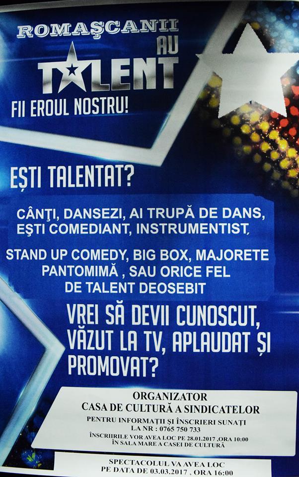 romascanii au talent