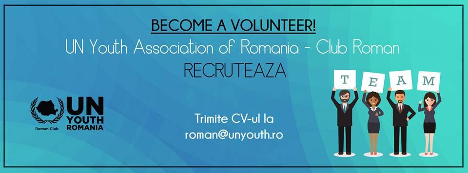 Un Youth – Roman Club caută voluntari