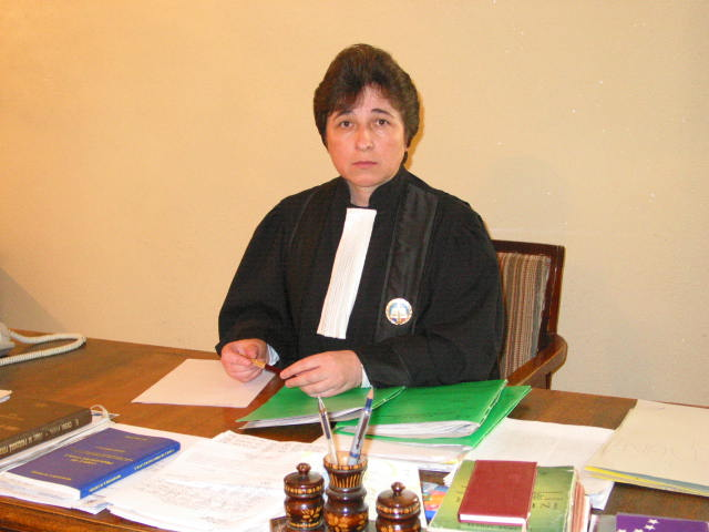 Judecătorul Veronica Iacob a ieșit la pensie