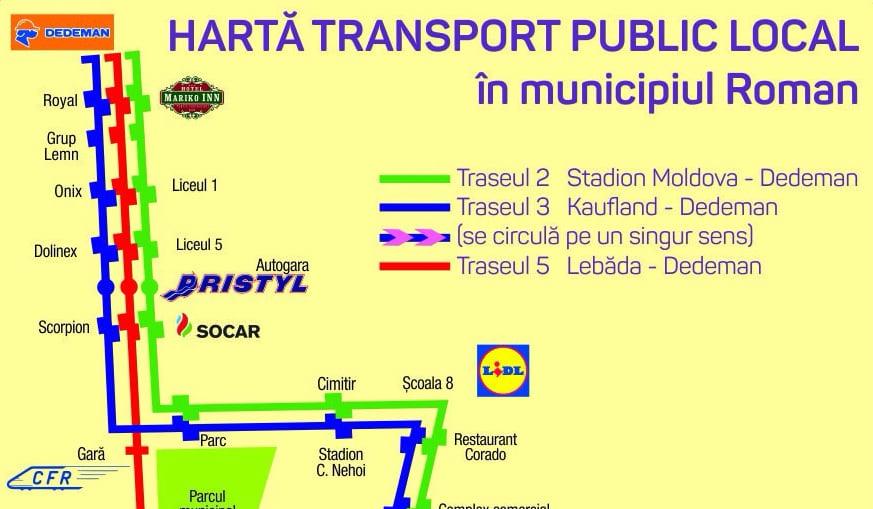 Se reia transportul public în comun pe traseele 2, 3 și 5