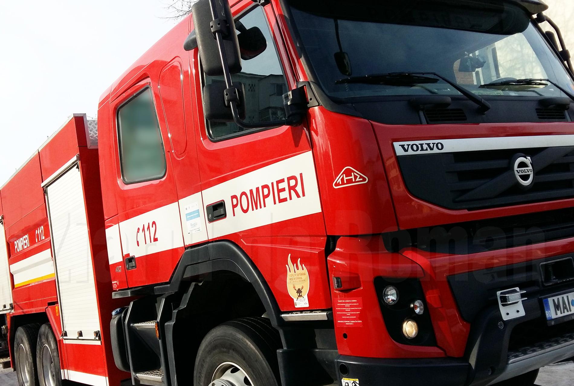Incendiu la o gospodărie din comuna Poienari