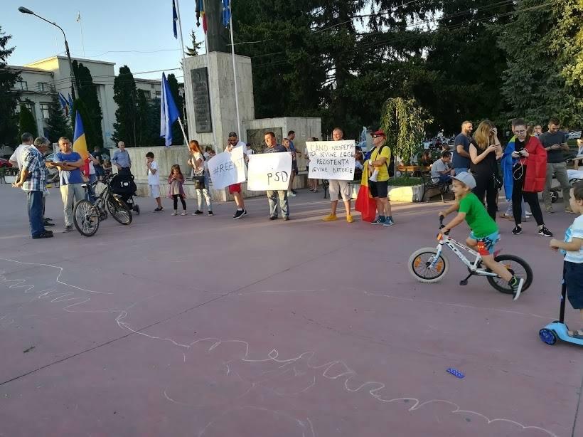 Romașcani alături de protestul Diasporei