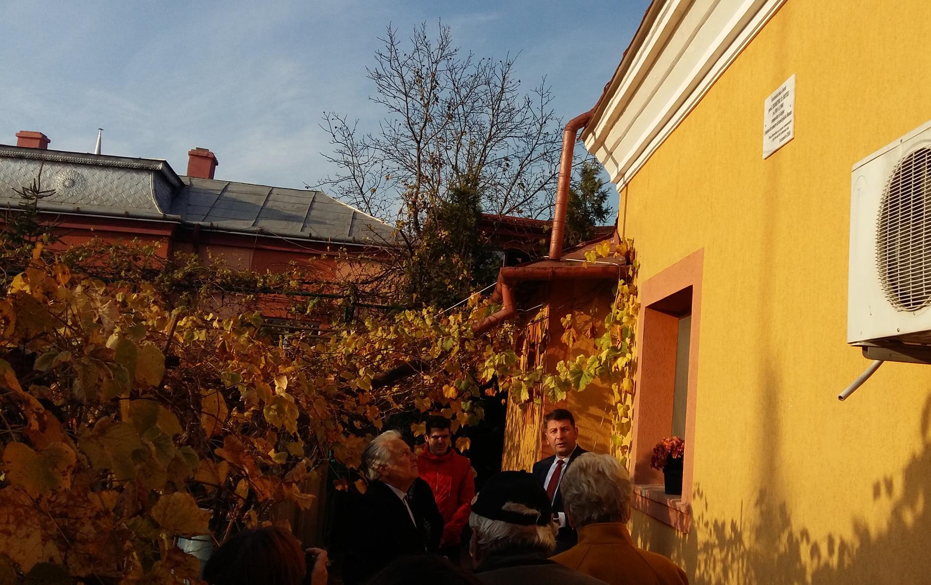 Compozitorul și dirijorul Dumitru D. Botez, omagiat prin amplasarea unei plăci comemorative la casa natală din Roman