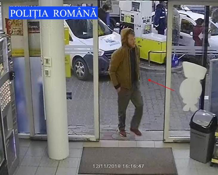 Căutat de polițiști după ce a furat dintr-o benzinărie