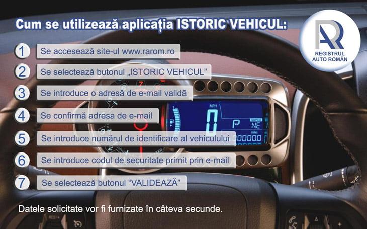 [VIDEO] RAR a lansat aplicaţia prin care se poate verifica istoricul unui vehicul