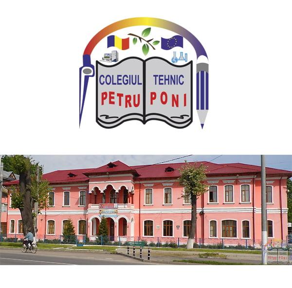 """Oferta educaţională a Colegiului Tehnic """"Petru Poni"""" Roman pentru anul şcolar 2019 – 2020"""