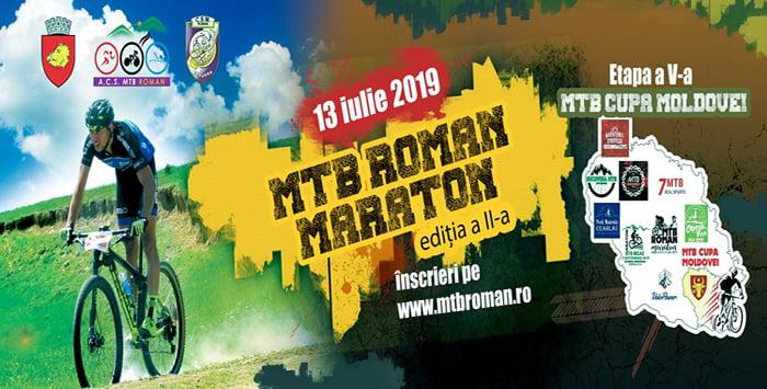 Ediția a II-a a MTB Roman Maraton se desfășoară pe 13 iulie