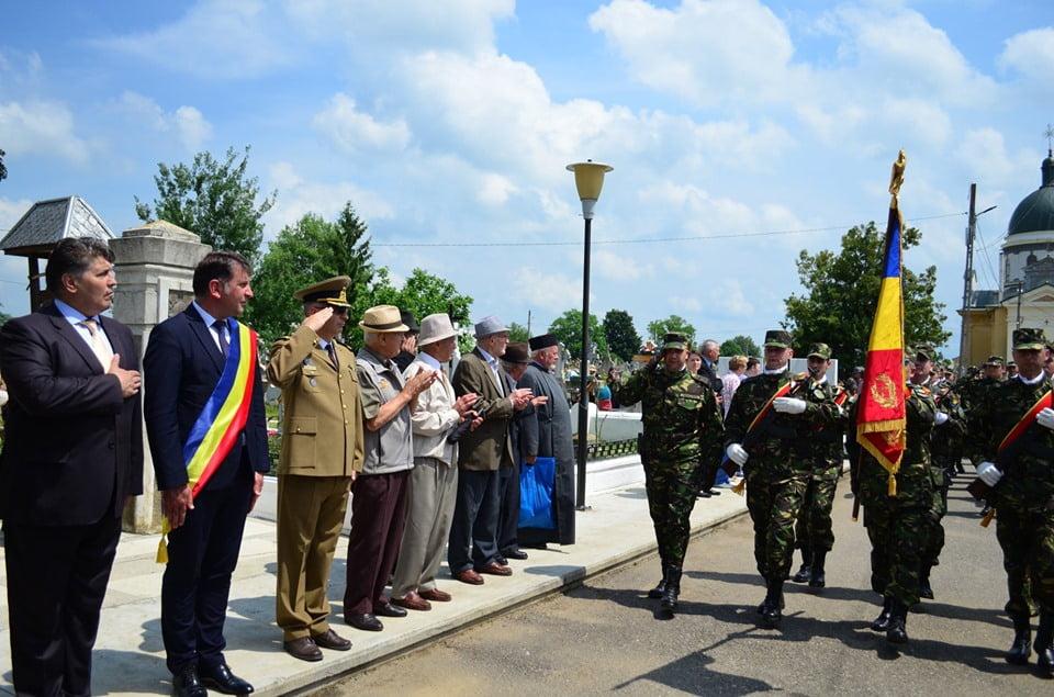 """Ziua Eroilor, sărbătorită la Monumentul Eroilor din Cimitirul """"Eternitatea"""""""