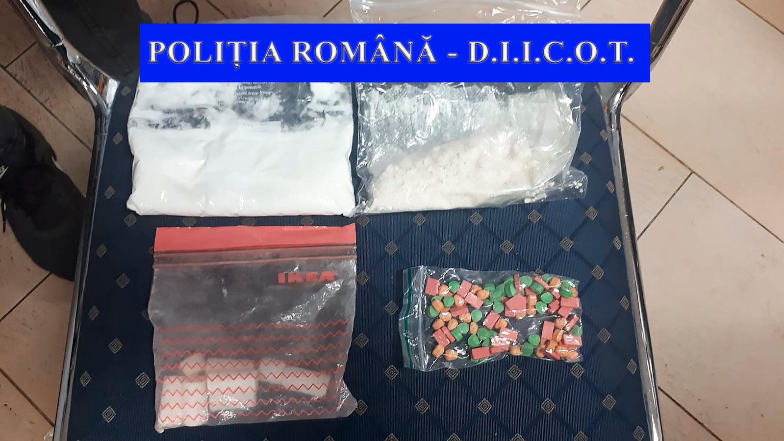 Transport de droguri depistat pe raza municipiului Roman