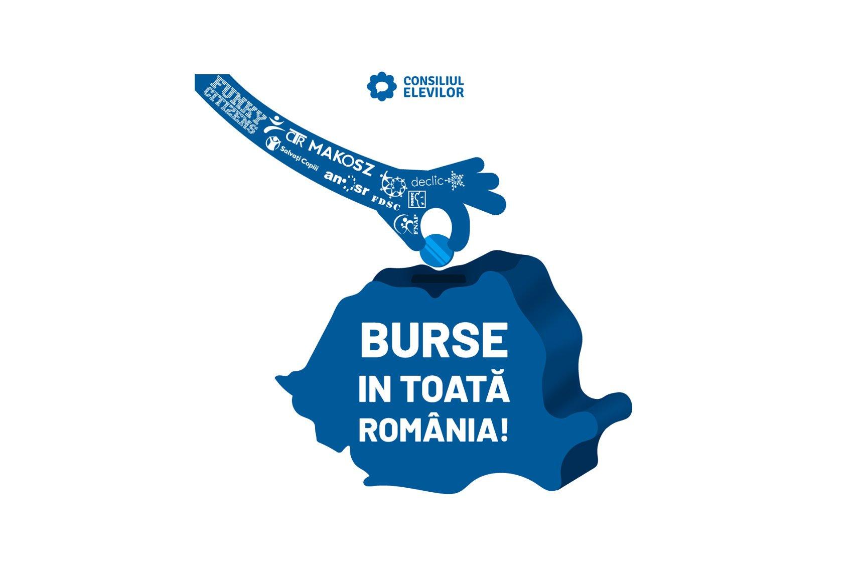 """Consiliul Elevilor inițiază campania: """"Burse în toată România!"""""""