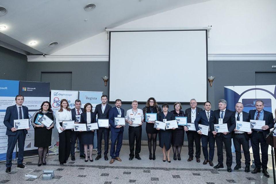 Municipiul Roman, premiat pentru proiectele cu fonduri europene la Gala Administraţie.ro