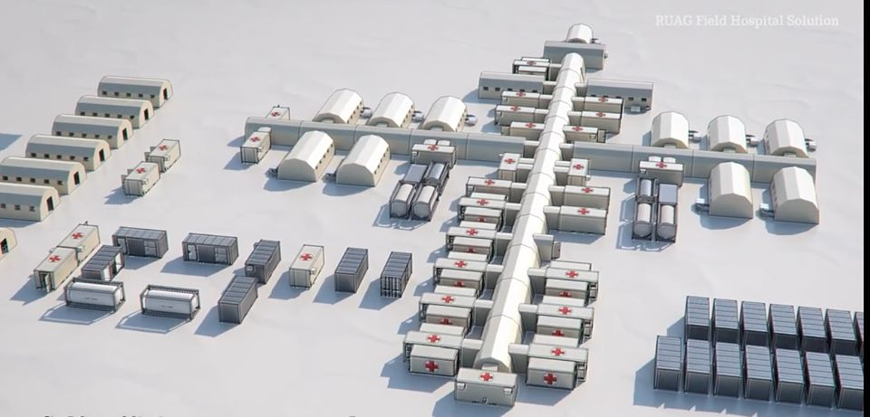 A fost semnat contractul de achiziție a Spitalului Modular Mobil COVID-19