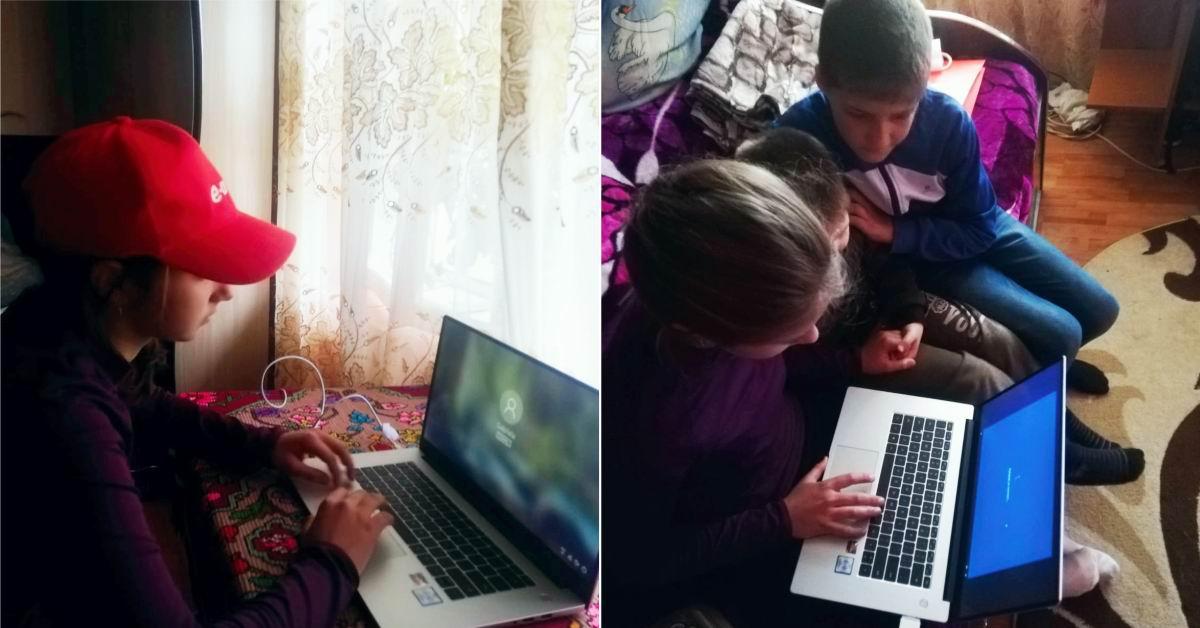 """E.ON donează laptopuri copiilor fără posibilități să participe la """"școala online"""""""