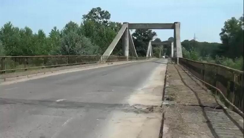 Trafic deviat de pe podul de la Luțca, pentru lucrările de modernizare