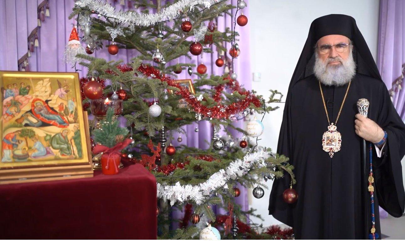 """""""Nașterea Domnului, timp al reflecției și speranței"""".  Scrisoare pastorală la sărbătoarea Nașterii Domnului și a Anului Nou 2021 a IPS Arhiepiscop Ioachim"""