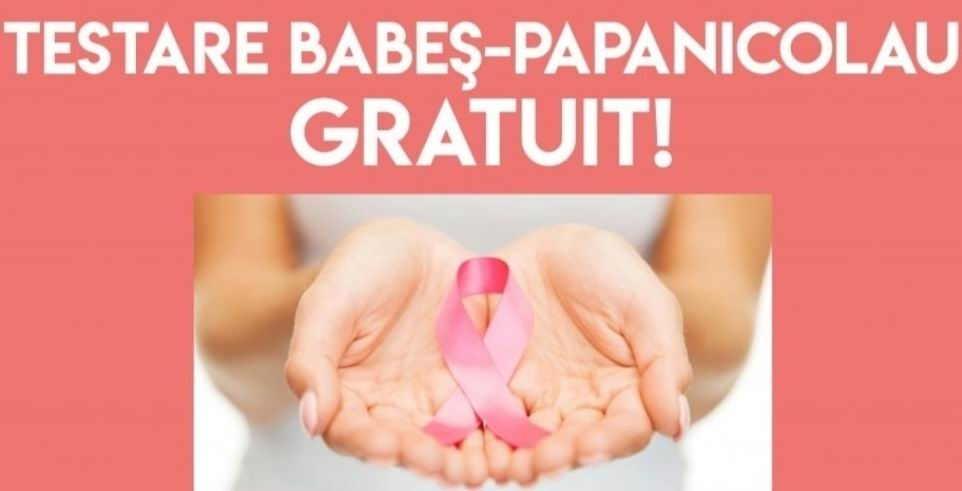 Testare gratuită pentru depistarea cancerului de col uterin, la Spitalul Roman