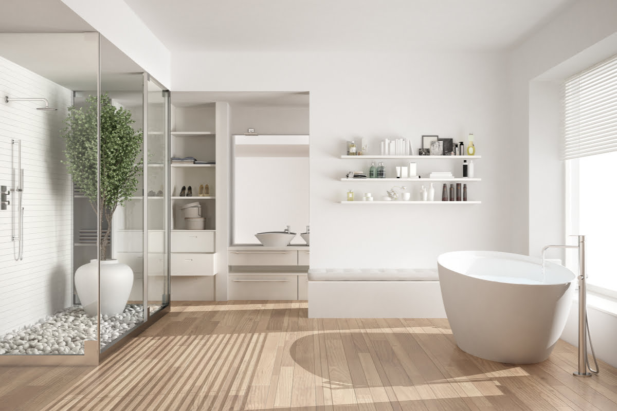 Cum transformi una dintre camerele casei de la tara intr-o adevarata baie moderna