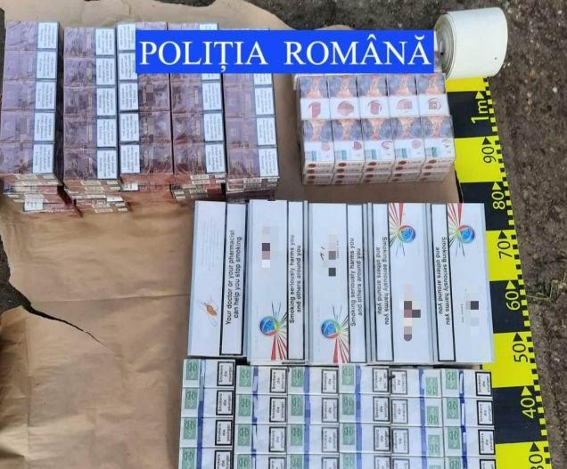 Percheziții în Roman, 470 de pachete de țigări confiscate de polițiști