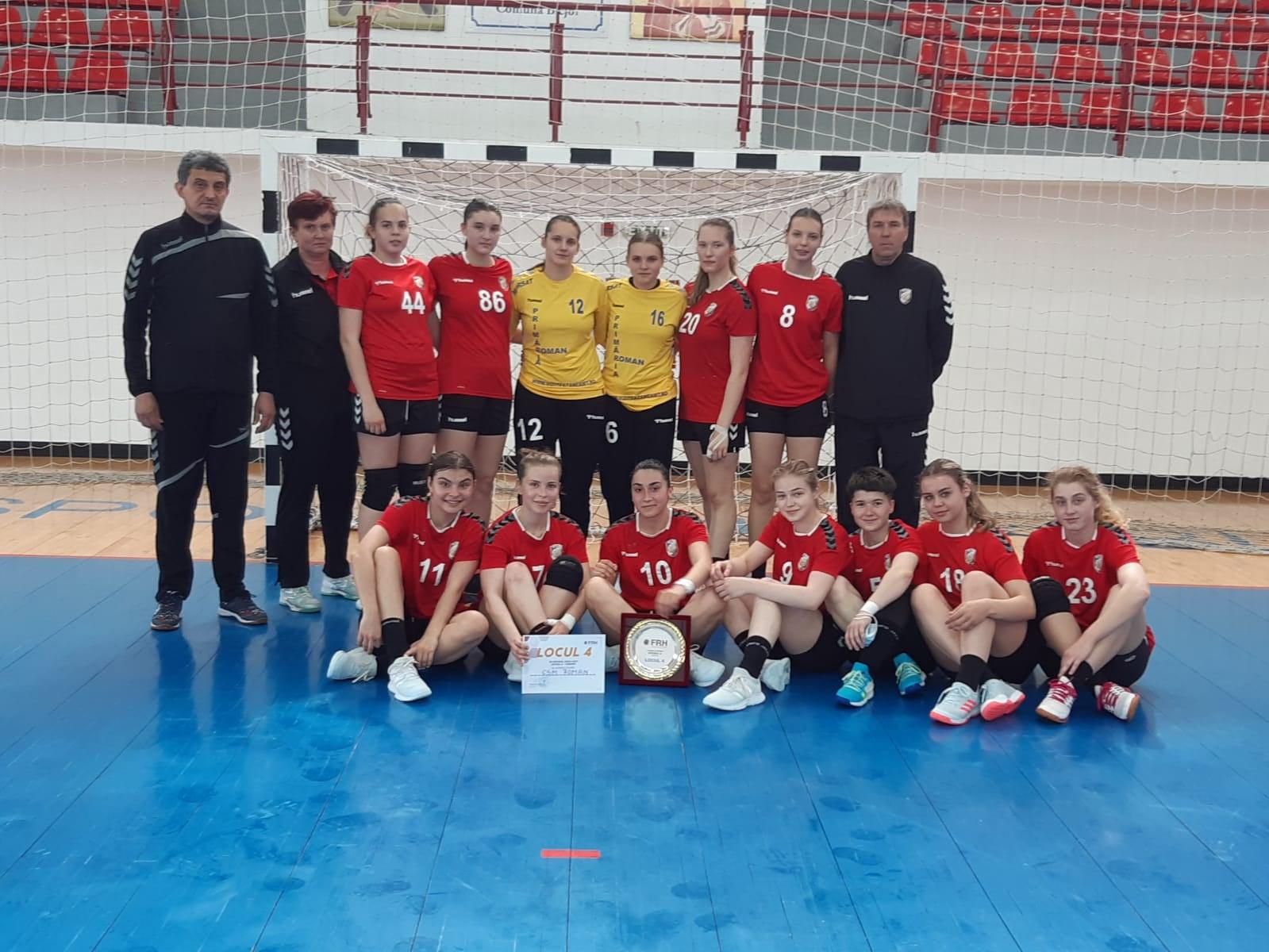 CSM Roman participă la barajul pentru promovarea în Liga Națională de handbal feminin