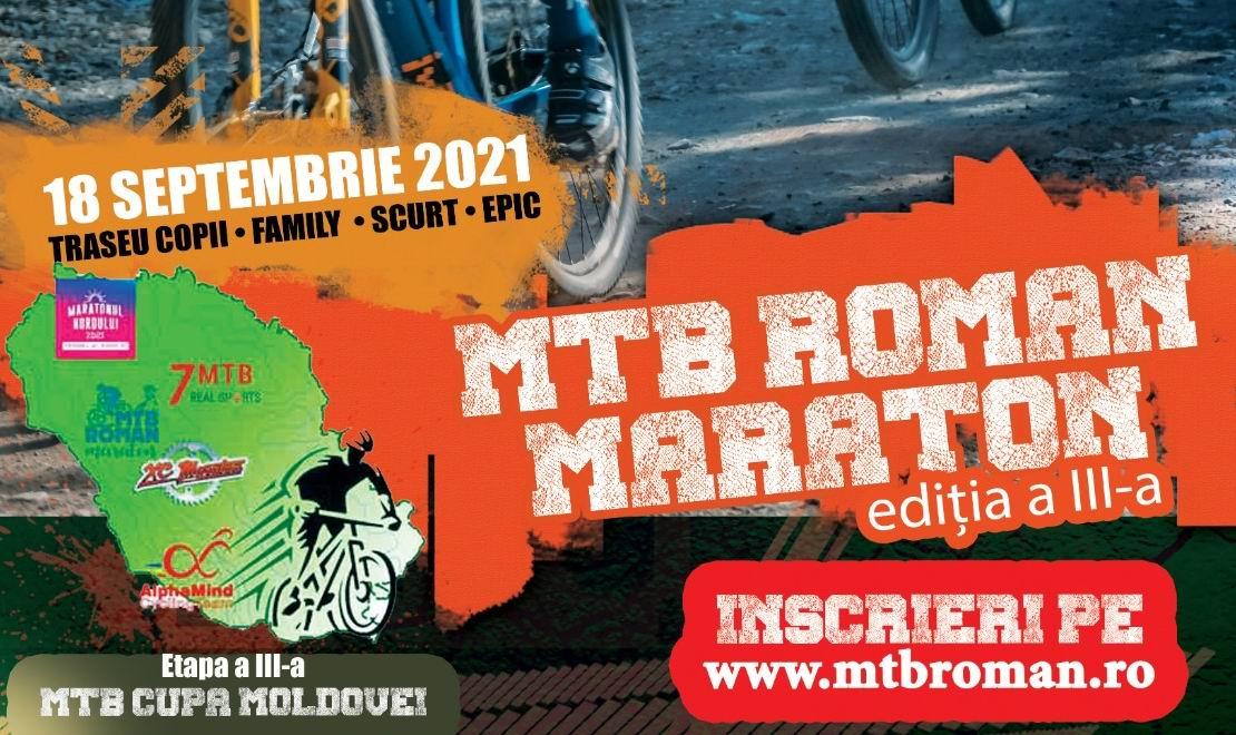 Încep înscrierile pentru ediția a treia a MTB Roman Maraton