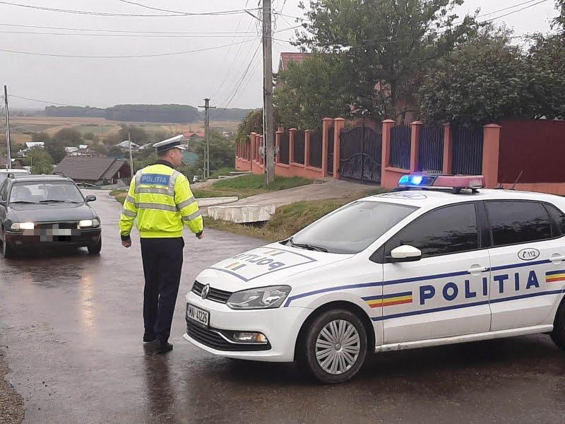 """Poliţiștii alături de bicicliști, în cadrul evenimentului """"MTB Roman Maraton"""""""