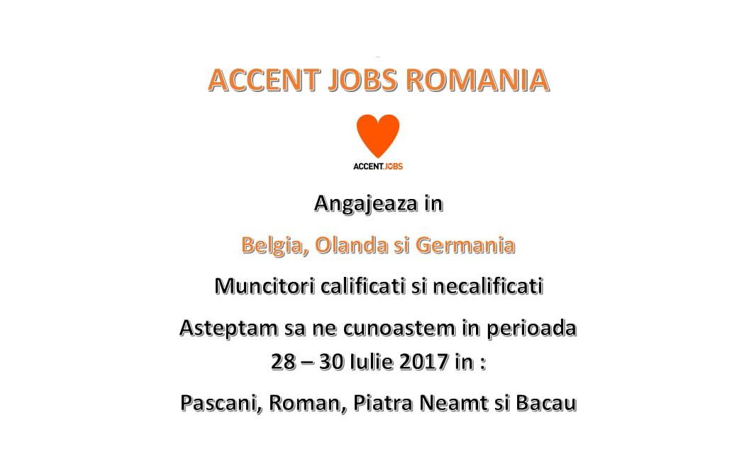 Selecție de muncitori pentru Germania, Olanda și Belgia, sâmbătă, la Casa de Cultură