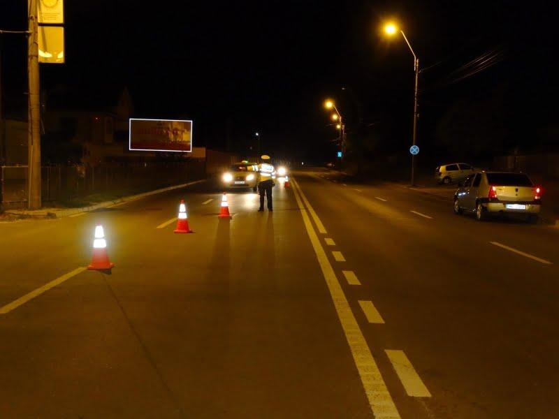 Polițiștii au testat într-o săptămână 1.500 de șoferi, pentru conducere sub influența alcoolului