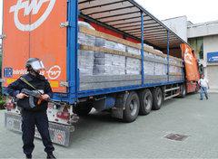 Sub paza armata doua tiruri imense au adus milioane de buletine de vot la Ploiesti