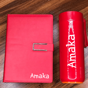 Notebook/Planner & Thermos