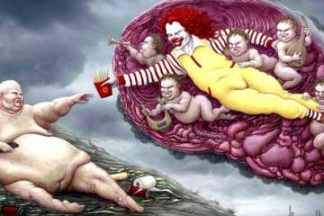 Illustrazioni brutalmente oneste sulla nostra società