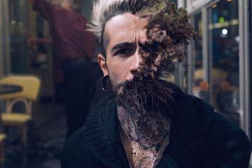 """7 ritratti surreali di volti con piante """"innestate"""""""