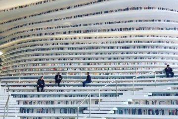 In Cina costruita una biblioteca che sembra uscita da un film di fantascienza