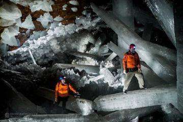 In una grotta del Messico i cristalli più grandi del mondo