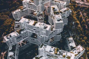 Singapore vista dall'alto negli scatti del fotografo Ryan James