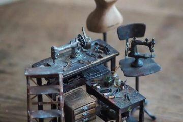 Case delle bambole in miniatura così accurate da sembrare vere