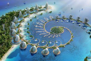 L'architetto Vincent Callebaut progetta un eco-resort a forma di spirale per le Filippine