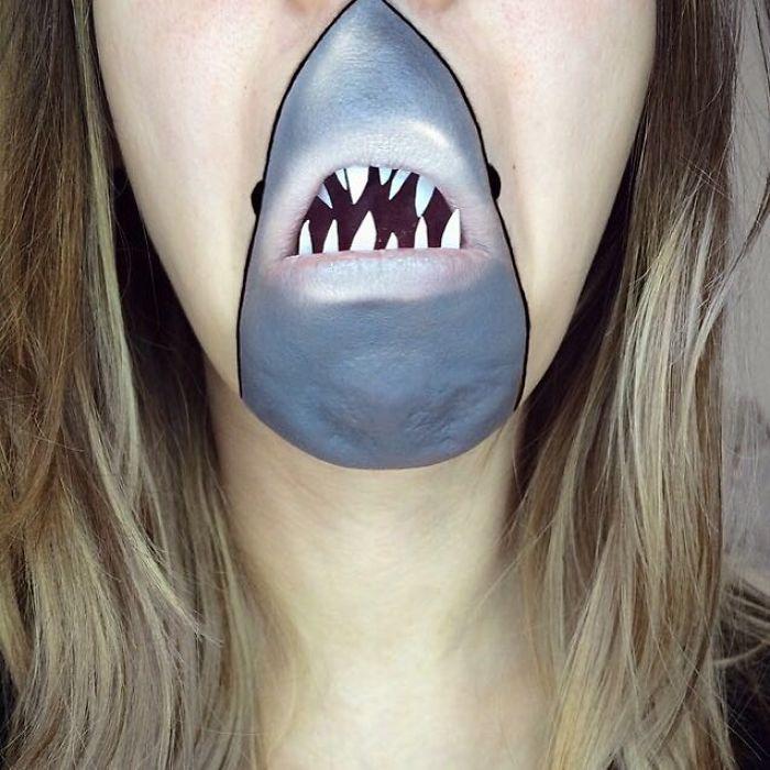 Quello che mai avreste immaginato si potesse fare col trucco sul volto