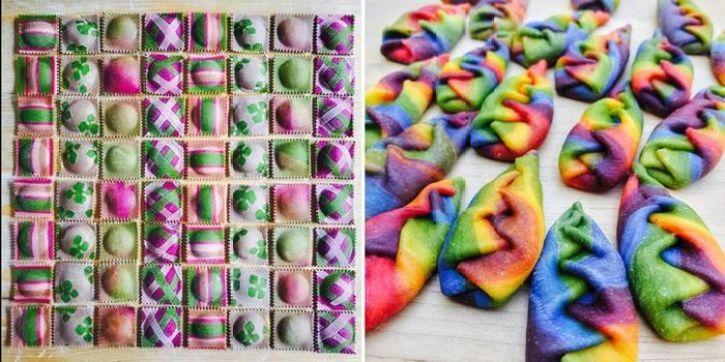 Grazie a Linda Miller ora possiamo mangiare la pasta con i colori dell'arcobaleno