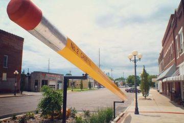 Casey, la piccola città con gli oggetti giganti
