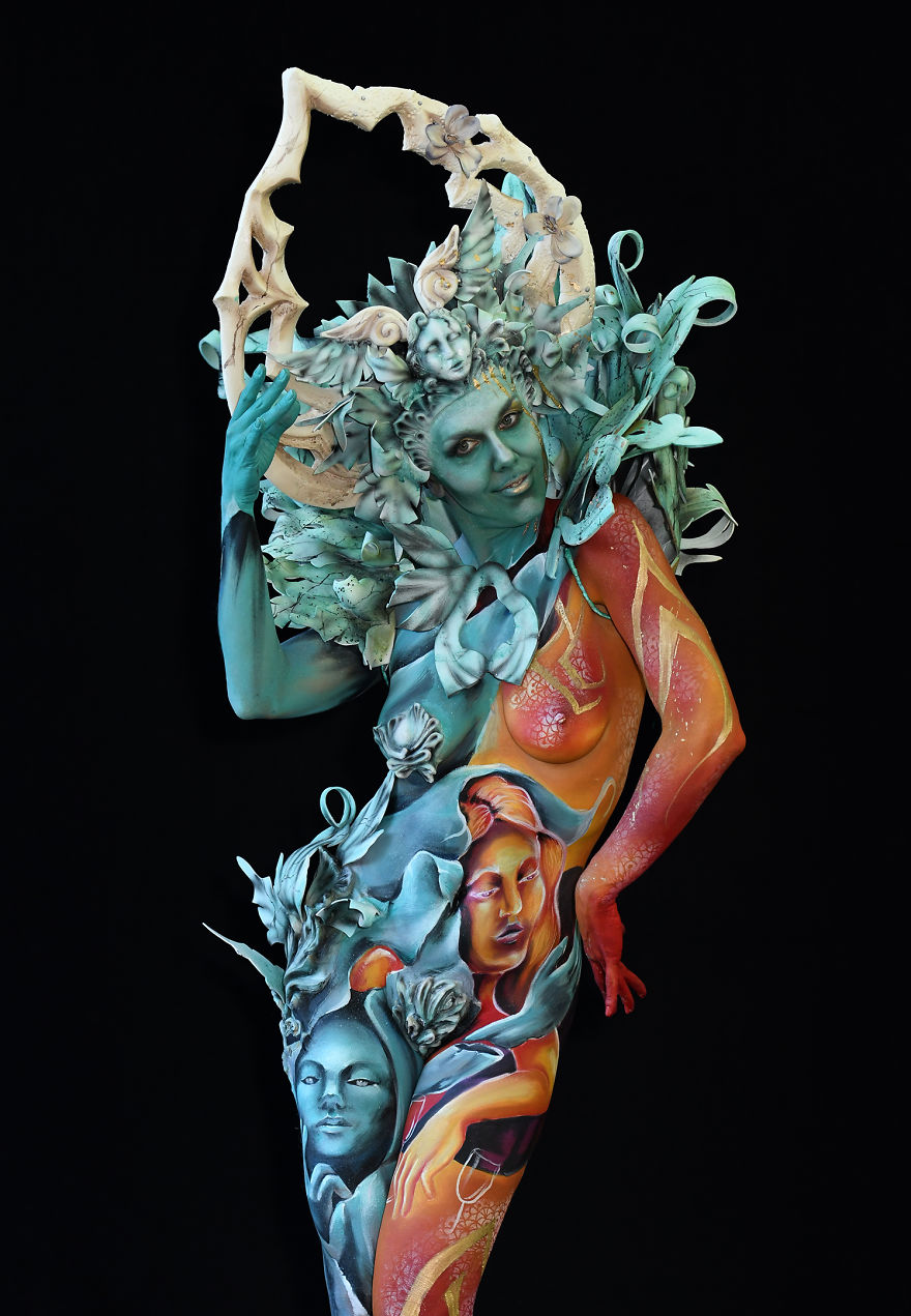 L'incredibile creatività degli artisti al World Bodypainting Festival 2018