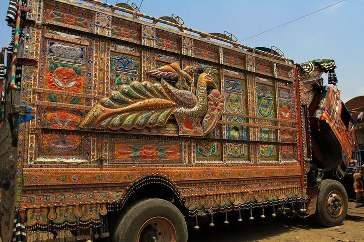 I camion Jingle del Pakistan
