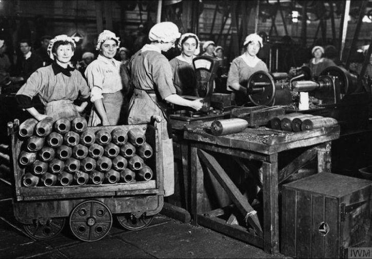Il ruolo delle donne durante i conflitti mondiali