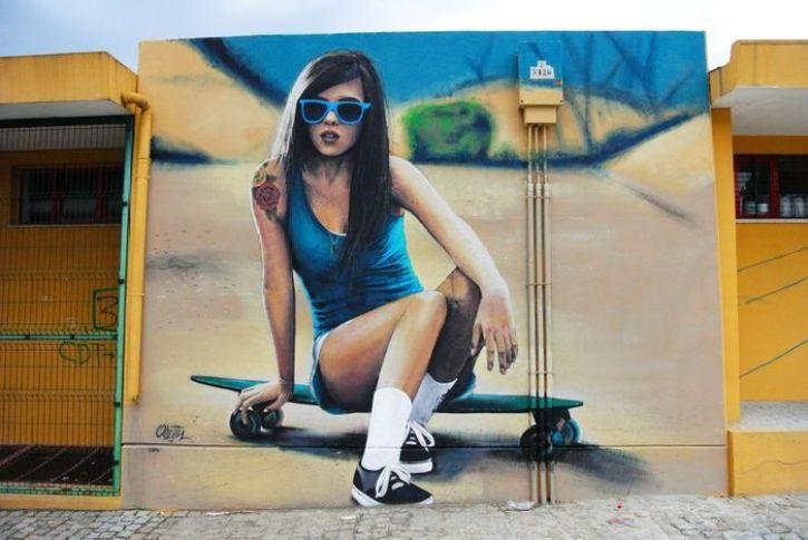 L'incredibile realismo dell'artista di strada Odeith