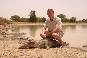 I  coccodrilli domestici del villaggio di Bazoule