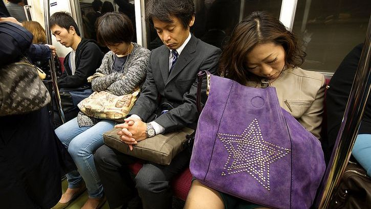 Inemuri l'arte giapponese del dormire al lavoro