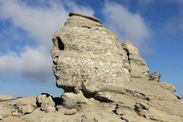 La Sfinge di Bucegi in Romania